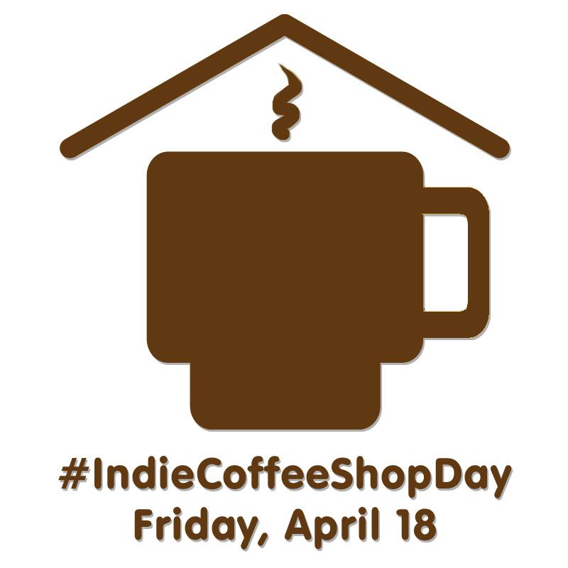 Italian Coffee Shop Logos Indie Coffee Shop Day Logo