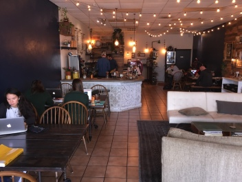 Inside Duo 58 in Oviedo, Florida. One of my favorite indie coffee shops in Central Florida.