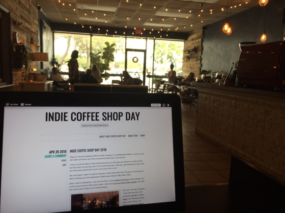 indie coffee shop day 2018 at duo 58