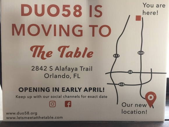Duo58 is Moving